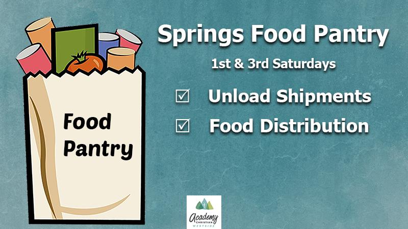 Springs Food Pantry